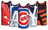 Klew Mens MLB Big Logo Tank Top Shirt, Multiple Teams