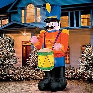 Amazon.com: Gemmy Industries Airblown Nutcracker Christmas ...   Lighted Nutcracker Soldier