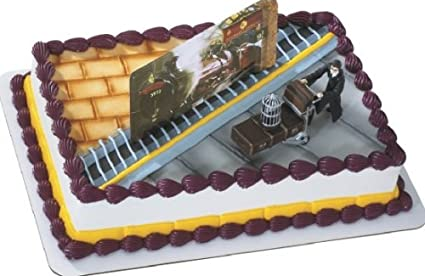 Amazoncom Harry Potter Hogwarts Express Cake Kit Toys Games