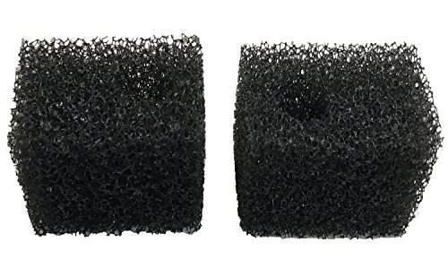 Penn Plax Cascade 170 GPH Internal Filter Aquarium Bio Sponge Replacement; 2 Pack (Bio Cascade Sponge)