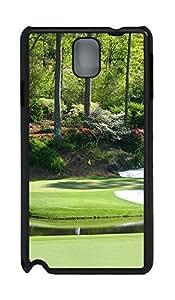 Samsung Note 3 Case Landscapes Augusta PC Custom Samsung Note 3 Case Cover Black