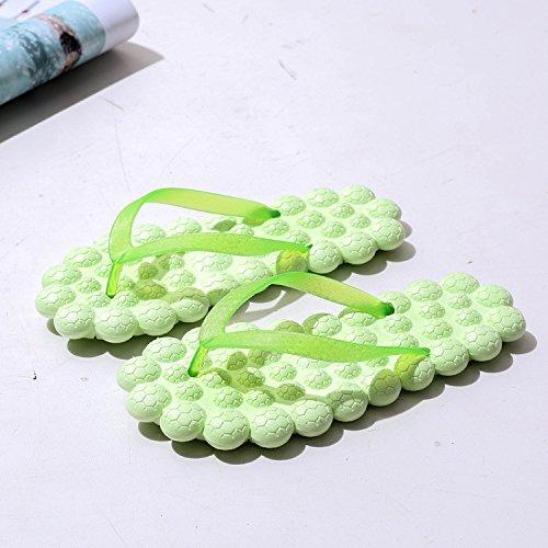 40 Dames C Modèles XING Pantoufle Glisser étudiant Féminins 37 Sandales Tongs Plage Toe Massage GUANG Nouveau Été B RxPwfT