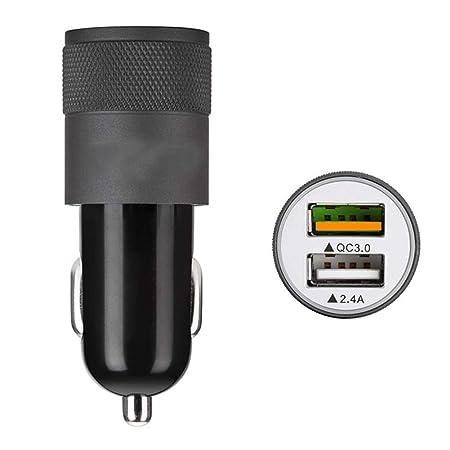 LI-CHARGE Cargador De Coche USB Tipo C, Carga Rápida 2.4A ...