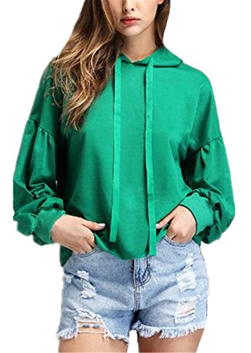 3d337c6375650 AILIENT Femme Tops à Manches Longues Loose Blouse Sweat-shir Casual Pull  Elegant Hivert Sweats à capuche Chemisier Blouson Baggy Streetwear   Amazon.fr  ...