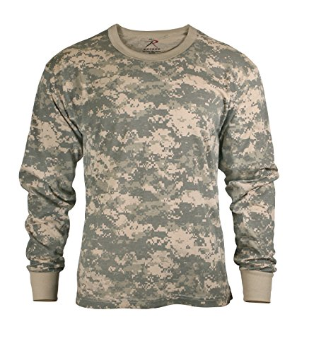 - Rothco Kids Long Sleeve T-Shirt, ACU Digital, X-Large