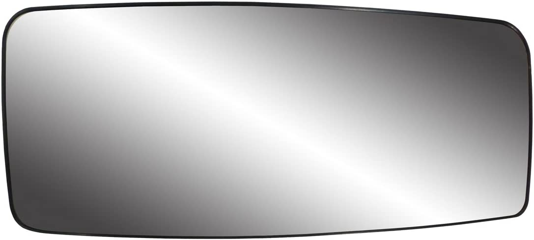 Fit System 80240 Chevrolet//GMC Right Side Manual//Power Replacement Mirror Glass with Backing Plate