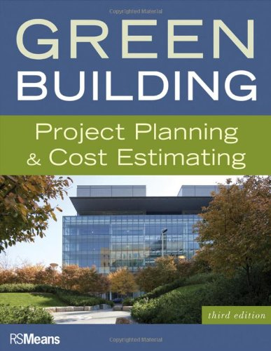 Green Building  Project Planning And Cost Estimating