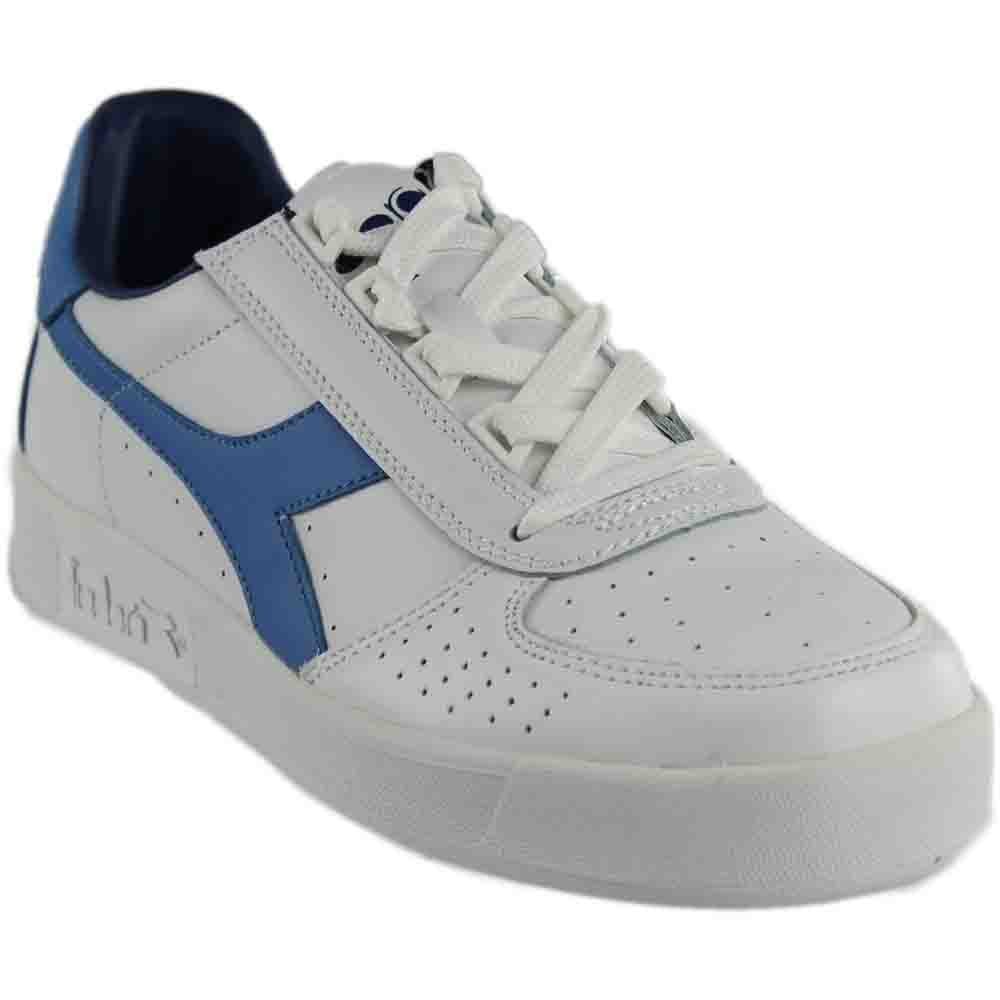[ディアドラ] DIADORA B.ELITE 3 B071JDMMX4 11.5 Women / 10 Men M US|White/Campanula/Estate Blue White/Campanula/Estate Blue 11.5 Women / 10 Men M US