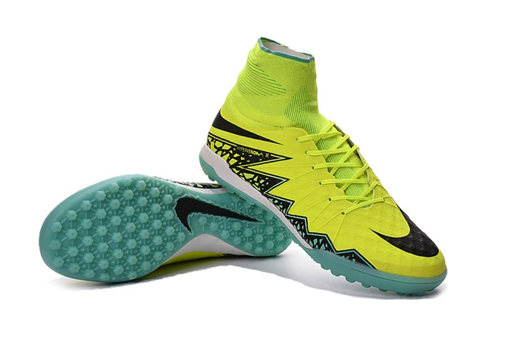 the best attitude c0b54 a4661 well-wreapped Lissay Shoes Mens HypervenomX Proximo TF Football Yellow Soccer  Boots