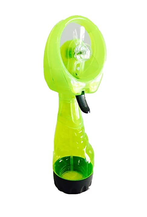 Portable, Handheld, Battery Operated Personal Misting Fan/Spray Fan With  Wide Opening For