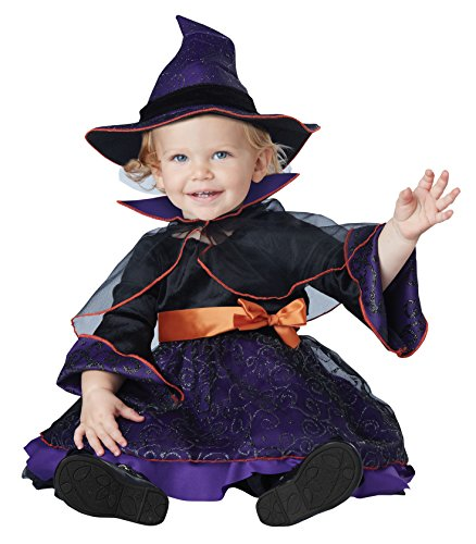 Saw Girl Costume (California Costumes Baby Girls' Hocus Pocus Infant, Purple/Black, 12 to 18)