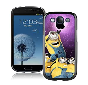 Beautiful And Unique Designed Case For Samsung Galaxy S3 With Despicable Me 19 Black Phone Case