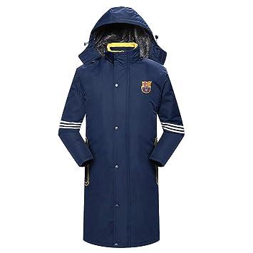 clothes Abrigo Militar cálido de Invierno, algodón de Trabajo Largo para Hombre, Abrigo de algodón frío y Resistente al Viento: Amazon.es: Hogar