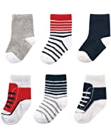 Luvable Friends Shoe Socks for Boy