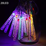 Citra 20 Led 3M Battery Operated Water Stick Test Tube Multi Colour String Diwali Light for Decoration