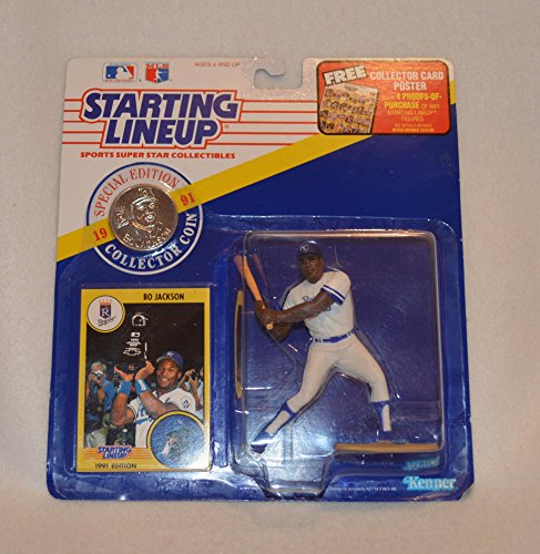 (1991 Starting Lineup Bo Jackson Sports Super Star Collectibles)