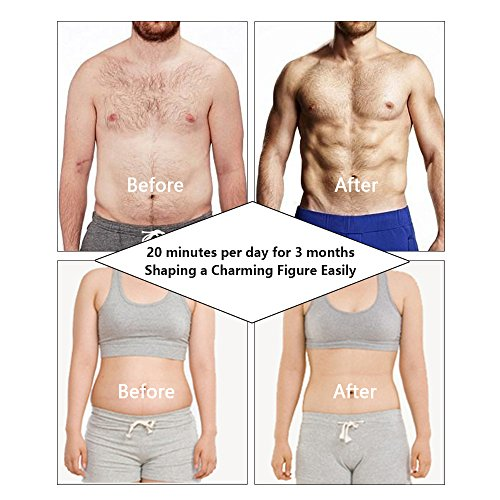 【2018 New BEST】 Abs Stimulator,Abdominal Muscles Toner,Body Fit Toning Belt,Abs Trainer Fitness Training Gear Machine Ab Workout Equipment for Men&Women