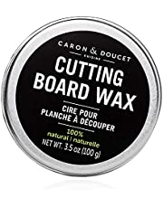 Caron & Doucet - Cutting Board & Butcher Block Wood Conditioning & Finishing Wax   100% Plant-Based & Vegan, Best for Wood & Bamboo Conditioning & Sealing   Does NOT Contain Mineral Oil!