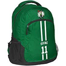 FOCO Forever Collectibles NBA Unisex Action Backpack Boston Celtics Kyrie Irving #11 Action Backpack, Boston Celtics, One Size