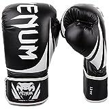Venum Challenger 2.0 Boxing Gloves, Black, 16-Ounce