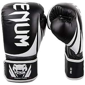Venum Challenger 2.0 Boxing Gloves - Black - 16-Ounce