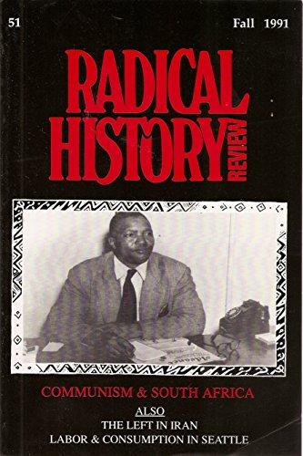 Radical History Review 51 Fall 1991