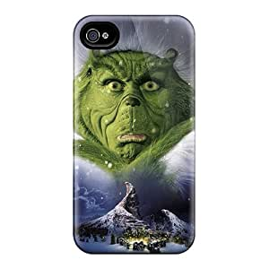 Perfect Hard Phone Case For Iphone 6 (xEi4535ixAL) Unique Design Fashion The Grinch Pattern
