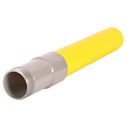 Underground Yellow Poly Gas Pipe Transition IPS to MIP (1/2)  sc 1 st  Amazon.com & Underground Yellow Poly Gas Pipe Transition IPS to MIP (1/2 ...