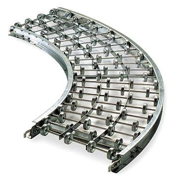 Skatewheel Conveyor W 90 Curve 18in