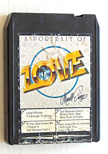 Murell Ewing A Portrait Of Love - Good Times Records 1978 - A Used 8-Track Album - Very Rare Misprinted Label - American Gospel Artist Sings 11 Great Songs