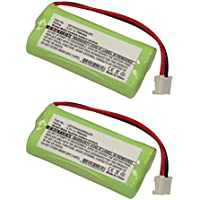 2pcs Exell Cordless Phone Battery Replaces GP70AAAH2BMJZR, 2SNAAA70HSJ1, CPH-515D. CBD8003