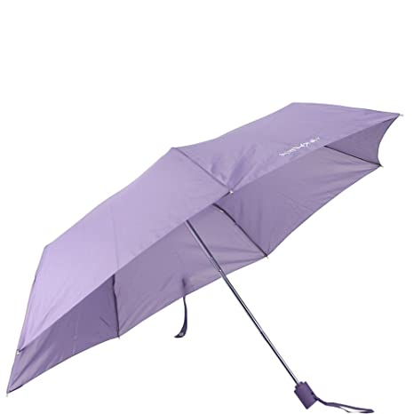 Samsonite Paraguas Bastón Lightdrop Ligero y compacto de 28 cm Púrpura (Purple Haze)