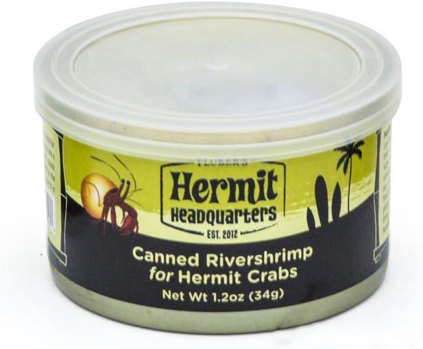 Fluker's Canned River Shrimp Treat for Hermit Crabs