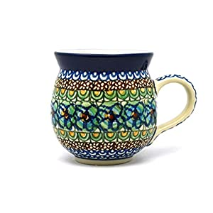 Polish Pottery Mug – 15 oz. Bubble – Unikat Signature U151