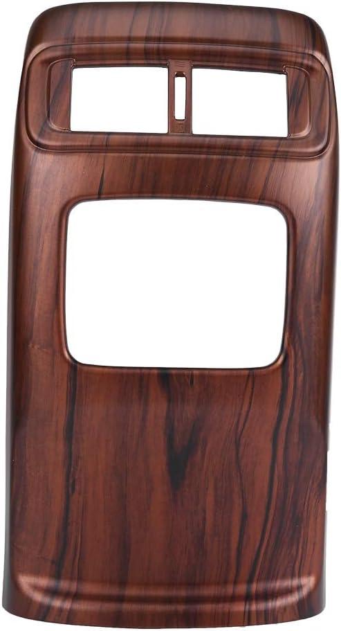 Acouto 1PC Rear Air Conditioning Vent Trim, Peach Wood Grain Color Car Air Conditioning Vent Outlet Frame Cover Trim for CRV 2017