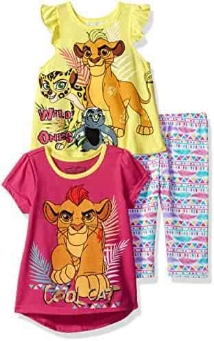 Disney Toddler Girls' 3 Piece Lion Guard Legging Set