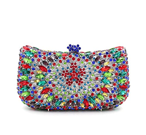 Pochette pour Chief rainbow colors femme the Chirrupy Violet all of violet Ewq5dg