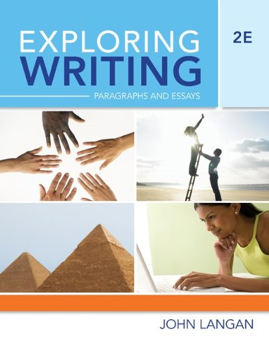 Exploring Writing: Paragraphs and Essays
