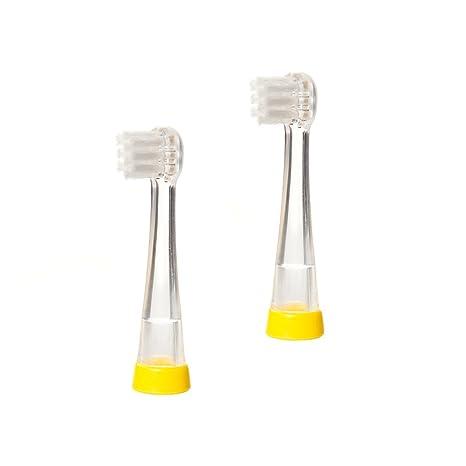 Brush-Baby BabySonic – Cabezales para cepillo de dientes eléctrico para 0 – 18 meses
