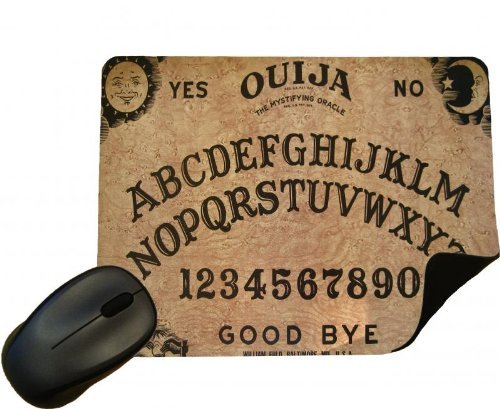 Eclipse Gift Ideas Ouija Board Mouse Mat - Set The Scene For Halloween - Mouse Pad