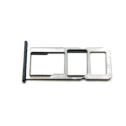 Single SIM Card Tray Slot Holder for Motorola Moto G6 Play XT1922 (Black)