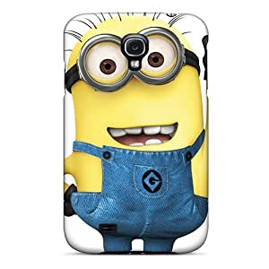 Hard Plastic Galaxy S4 Cases Back Covers,hot Despicable Minion Cases At Perfect Customized