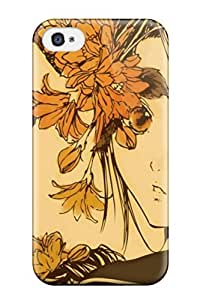Shock Absorbing High Quality Case For Ipod Touch 5 Case Cover -anime Autumn Melancholy