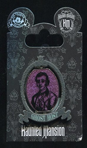 (Authentic Haunted Mansion Ghost Host Spinner - Disney Pin 103337)