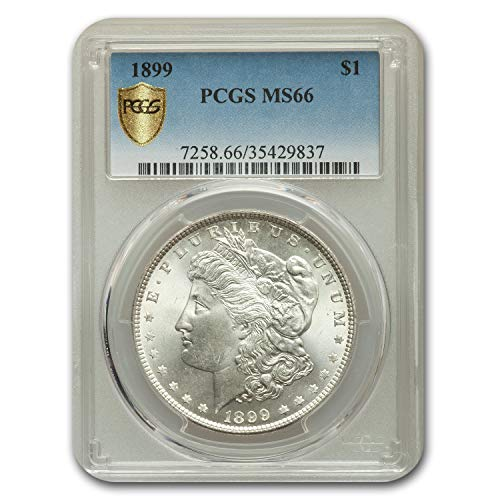 1899 Morgan Dollar MS-66 PCGS $1 MS-66 PCGS