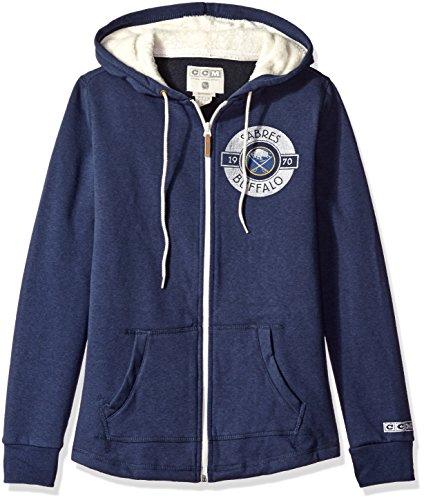 NHL Women's CCM Full Zip Plush Hoodie – DiZiSports Store