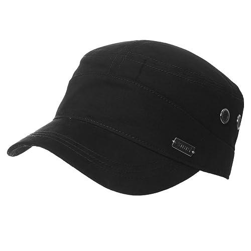 Siggi Mens 100% Cotton Classic Army Caps Military Hats Baseball Cap for Men Adjustable(5 Colours 2 Sizes 56-64CM)