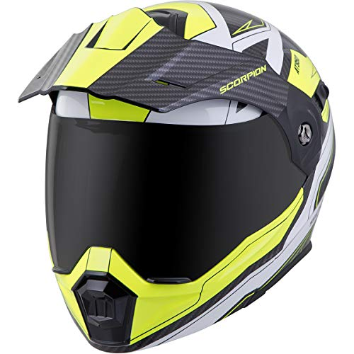 (Scorpion EXO-AT950 Tucson Adult Street Motorcycle Helmet - Hi-Viz/X-Large)
