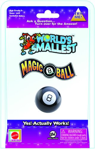 Worlds Smallest Magic 8 Ball Collectable