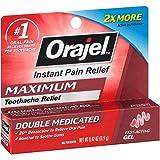 Orajel 3X Medicated For Toothache & Gum Gel, .42 OZ